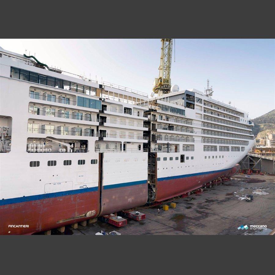 Silver spirit ship lengthening